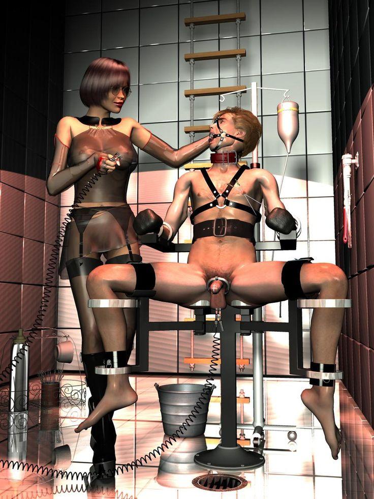 Entrikin recommends Femdom bi-male slave torture